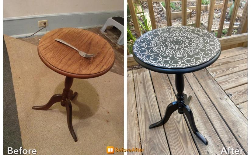 #35 Pedestal table